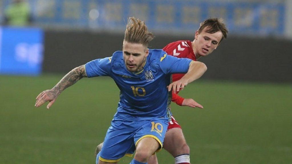 Сборная Украины U-16 уступила сверстникам из Дании