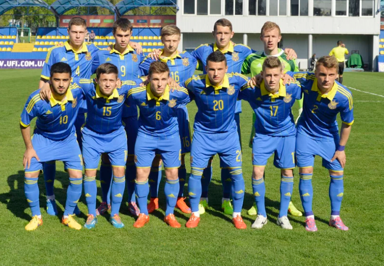 Сборная Украины U-16 проводит тренировочный сбор